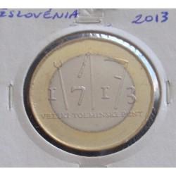 Eslovénia - 3 Euro - 2013