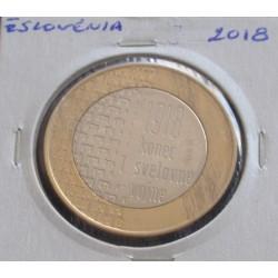 Eslovénia - 3 Euro - 2018