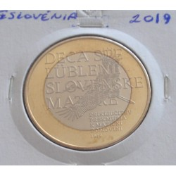 Eslovénia - 3 Euro - 2019