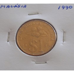 Malásia - 1 Ringgit - 1990