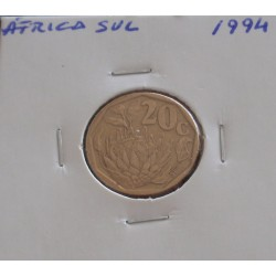 África do Sul - 20 Cents -...