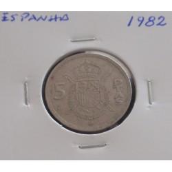 Espanha - 5 Pesetas - 1982
