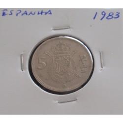Espanha - 5 Pesetas - 1983