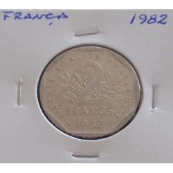 França - 2 Francs - 1982