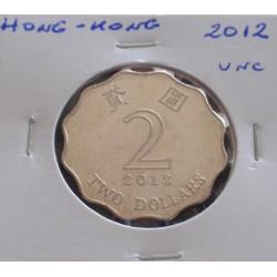 Hong - Kong - 2 Dollars -...