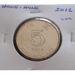 Hong - Kong - 5 Dollars -...