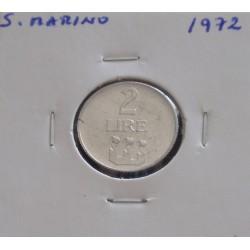 S. Marino - 2 Lire - 1972