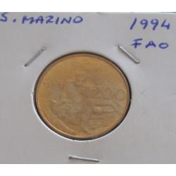S. Marino - 200 Lire - 1994...