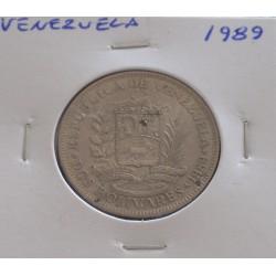 Venezuela - 2 Bolivares - 1989