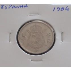 Espanha - 5 Pesetas - 1984