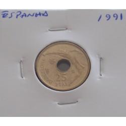 Espanha - 25 Pesetas - 1991