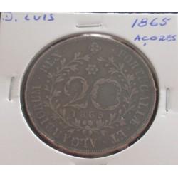 D. Luis - 20 Réis - 1865 (...