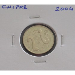 Chipre - 2 Cents - 2004