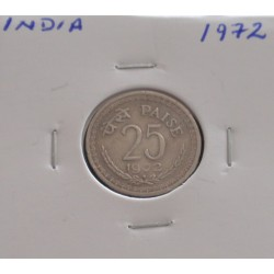 India - 25 Paise - 1972
