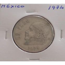 México - 1 Peso - 1974