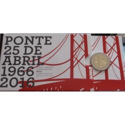 Portugal - 2 Euro - 2016 -...