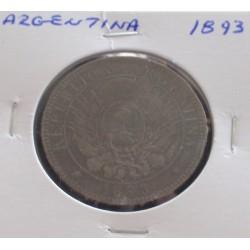 Argentina - 2 Centavos - 1893
