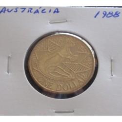 Austrália - 1 Dollar - 1988