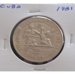 Cuba - 1 Peso - 1981