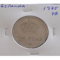Espanha - 25 Pesetas - 1975-78