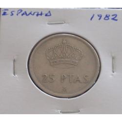 Espanha - 25 Pesetas - 1982