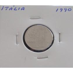 Itália - 100 Lire - 1990