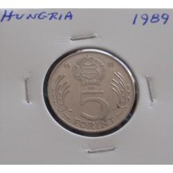 Hungria - 5 Forint - 1989