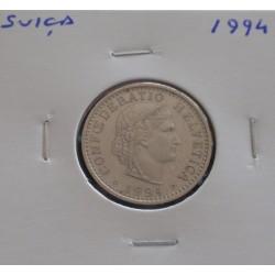 Suiça - 20 Rapen - 1994