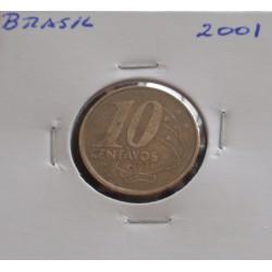 Brasil - 10 Centavos - 2001