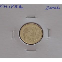 Chipre - 1 Cent - 2004