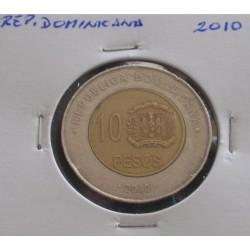Rep. Dominicana - 10 Pesos...