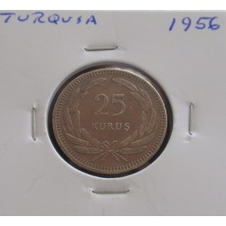 Turquia - 25 Kurus - 1956