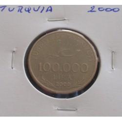 Turquia - 100.000 Lira - 2000
