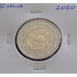 Grécia - 2 Euro - 2020 -...