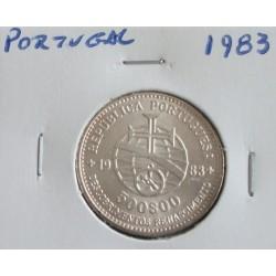 Portugal - 500 Escudos -1983 - XVII Exposição - Prata