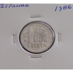 Espanha - 1 Peseta - 1986