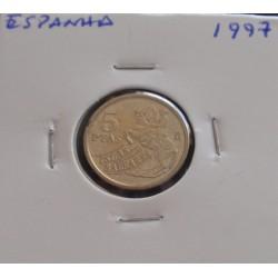 Espanha - 5 Pesetas - 1997