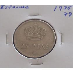 Espanha - 25 Pesetas - 1975-79