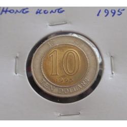 Hong - Kong - 10 Dollars -...