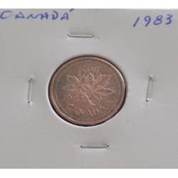 Canadá - 1 Cent - 1983