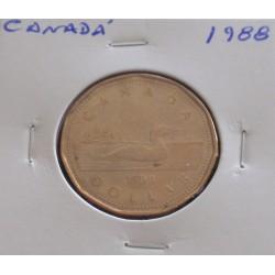 Canadá - 1 Dollar - 1988