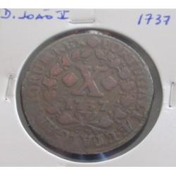 D. João V - X Réis - 1737 -...
