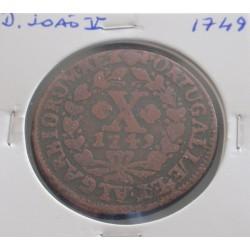 D. João V - X Réis - 1749 -...