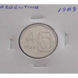 Argentina - 5 Australes - 1989