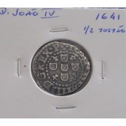 D. João IV - 1/2 Tostão -...