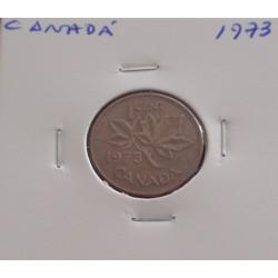 Canadá - 1 Cent - 1973