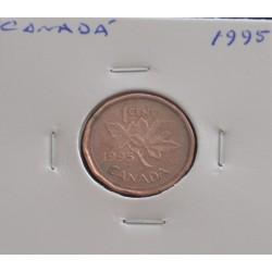 Canadá - 1 Cent - 1995