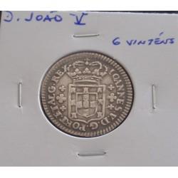 D. João V - 6 Vinténs - N/D...