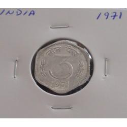 India - 3 Paisa - 1971