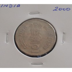 India - 2 Rupees - 2000